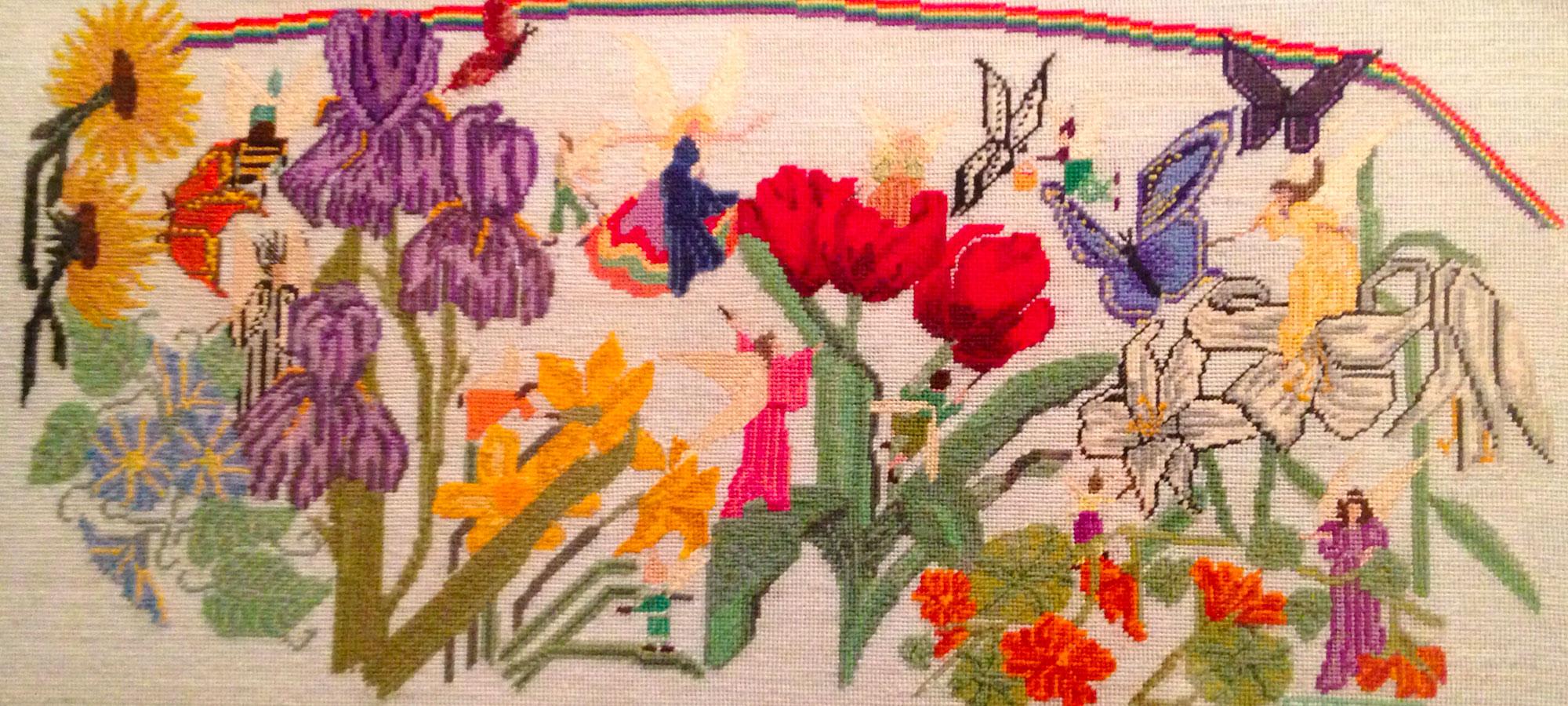 Fullsize photo of flower art