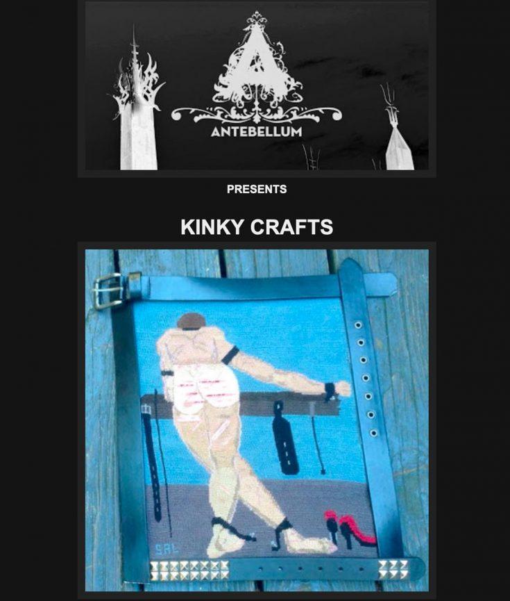Photo of Antebellum kinky crafts art show