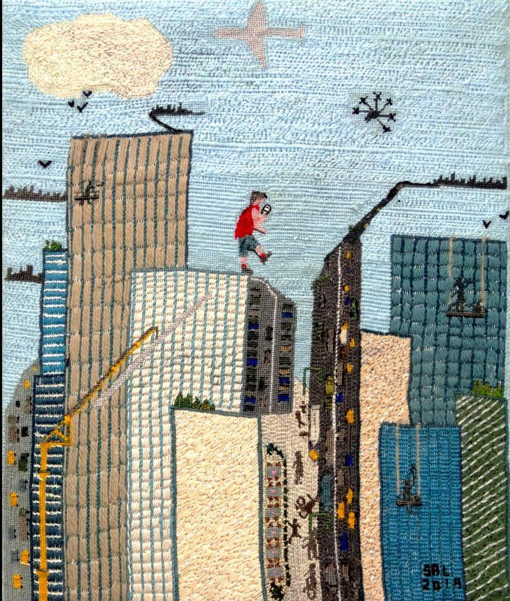 Photo of Cityscape artwork