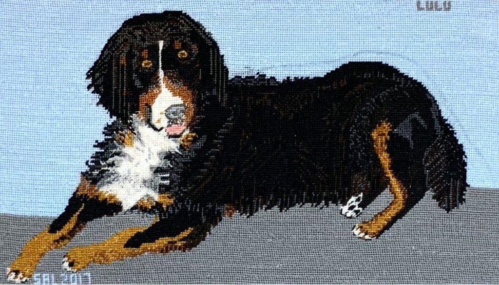 Photo of Lulu Dog artwork