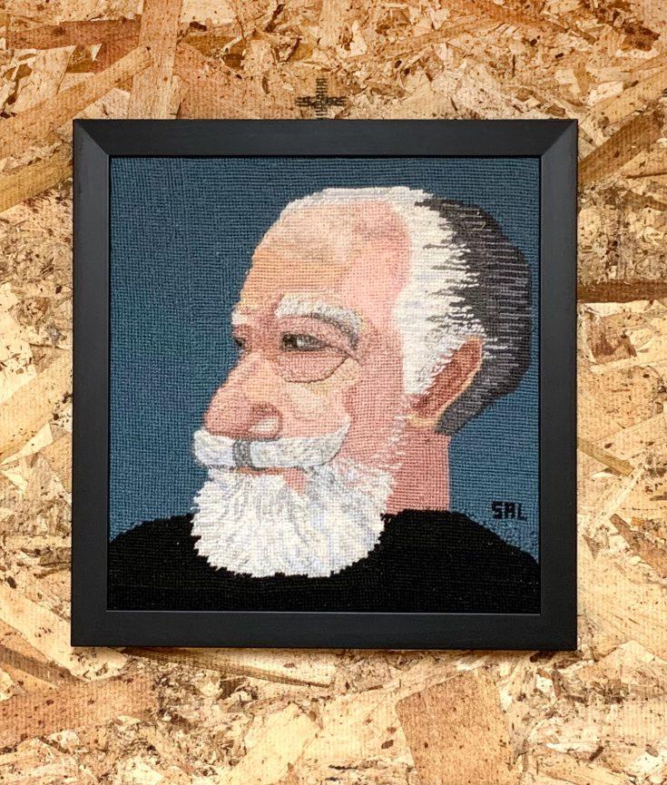 Sal Salandra Self Portrait