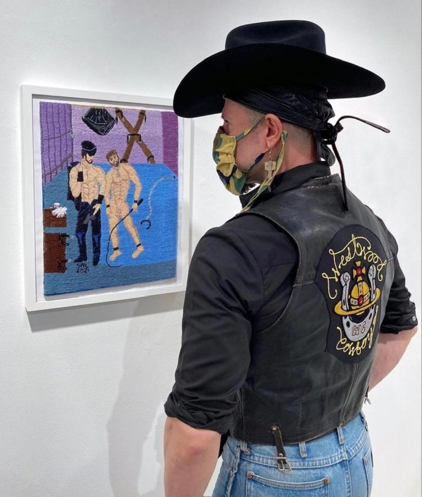 Sal Salandra and Westwood Cowboy at Shamleess Event