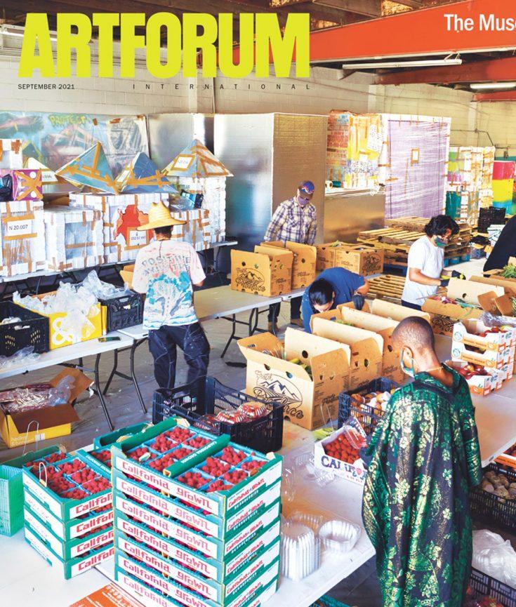 Art Forum Magazine cover